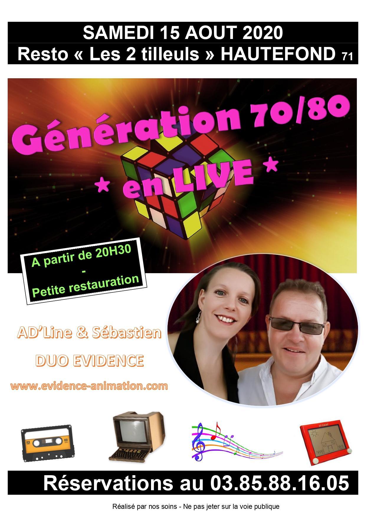 Affiche concert 15 08 20