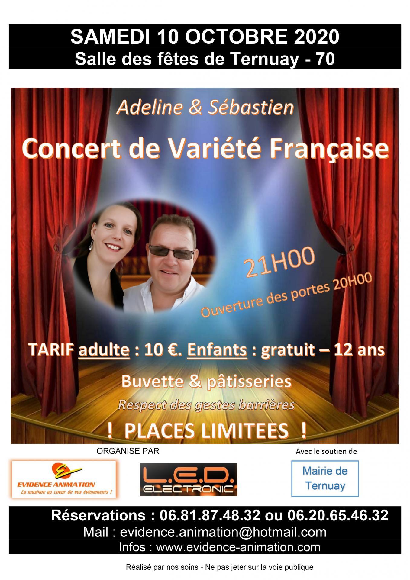 Affiche concert ternuay 10 10 20