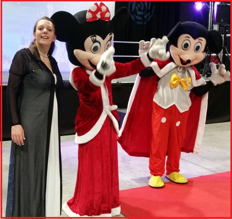 Disney ad mascottes
