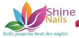 Shine nails logo
